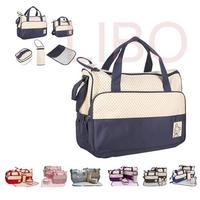 Mother Infanticipate Mummy Babies Bags Fashion Diaper Nappy Bag Multifunctional Double Shoulder Cross Body