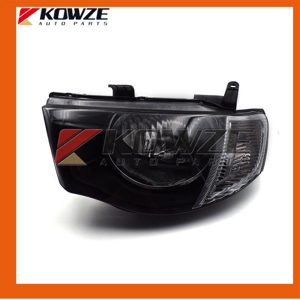 2PCS Left and Right Headlamp Headlight Kit For Mitsubishi L200 4D56 4G64 8301A825 8301A826 2pcs right