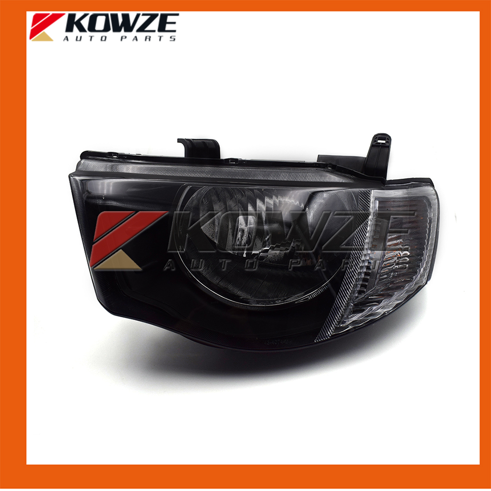 Left and Right Headlamp Headlight Kit For Mitsubishi L200 4D56 4G64 8301A825 8301A826 for mitsubishi l200 kb