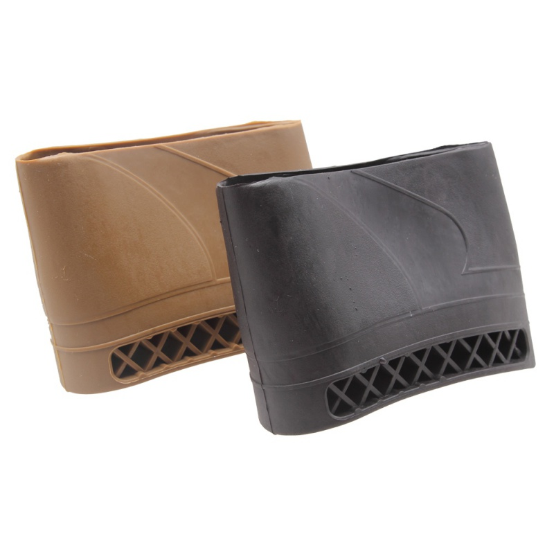 Hunting Rifle Rubber Recoil Pad Slip-On Buttstock Shotgun Shooting Extension Shotgun Gun Butt Protector Rubber 1 Piece