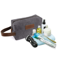 Travel Wash Bag Canvas Kits Cosmetic Makeup Organizer Men Women Toiletry Shave hand Toiletry Bag