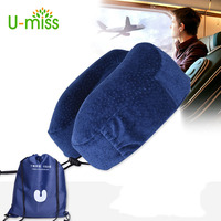 U miss Travel Pillow for Airplane In The Car U shape Neck Memory Foam Filler for Pillows Slow Rebound Core.