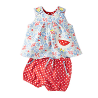 Baby Girls Sets Summer Children Clothing Brand Kids Tracksuit For Girls Clothes Animal Applique Tops Toddler