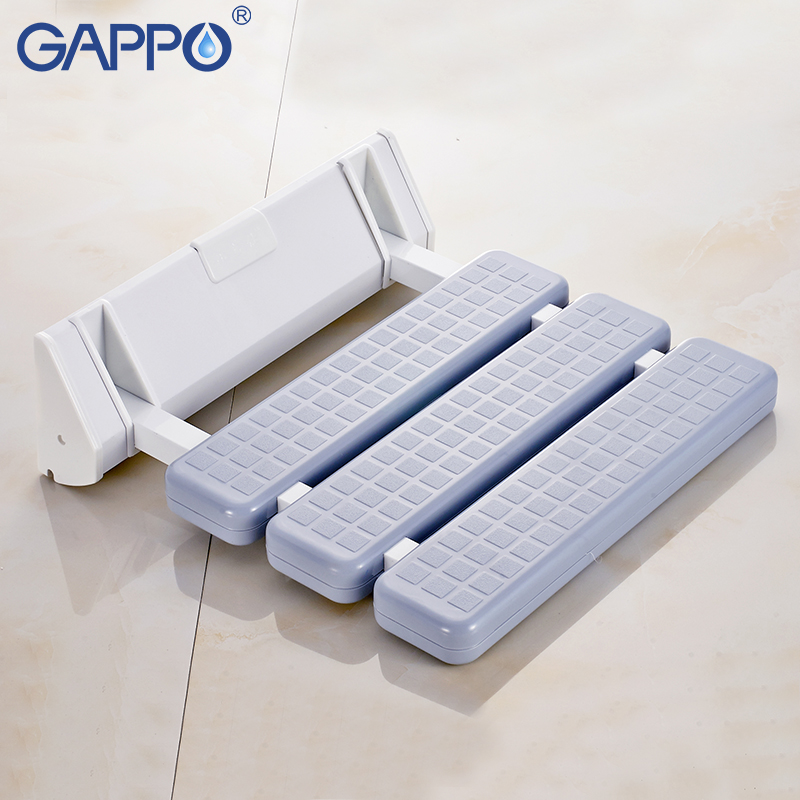 Wall Mounted Shower Seats Gappo Wall Mounted Shower Seats Bathroom Shower Chair Shower Folding Seat Bath Shower Bench Stool Toilet Chair Bath Seat
