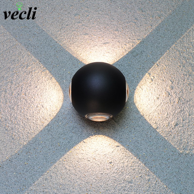 Beautiful Modern Led Wall Lamp 3w/6w/12w Aluminum Body Wall Light For Bedroom Home Lighting Luminaire Bathroom Light Fixture Wall Sconce Good Heat Preservation Lights & Lighting