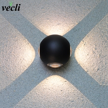 цены Modern Led Wall Lamp 3W/6W/12W Aluminum Body Wall Light For Bedroom Home Lighting Luminaire Bathroom Light Fixture Wall Sconce