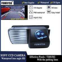 FUWAYDA SONY CCD Chip Car Rear View Reverse CAMERA Di Backup per NISSAN Versa Pulsar Cube 350Z 370Z gt-r Infiniti G35 G37 HD