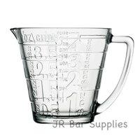 משלוח חינם 32oz זכוכית נוזל כוס מדידה עם גדול ידית-גדול הדפסת מדידות לנראות קלים  אפייה  בישול