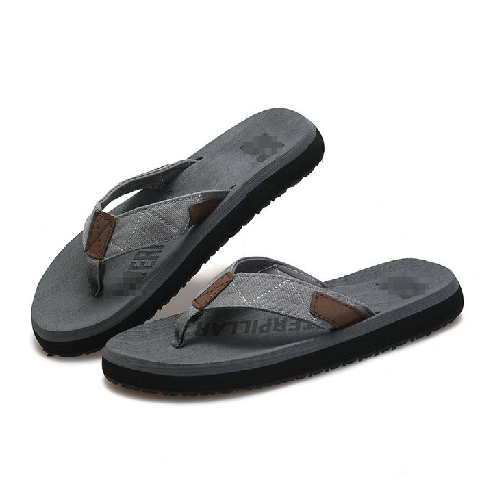 3ff931897ab7 ... High Quality Popular Outdoor Beach Flat Sandals Man Slippers Mens  Rubber Sole Orthotic Flip Flops ...