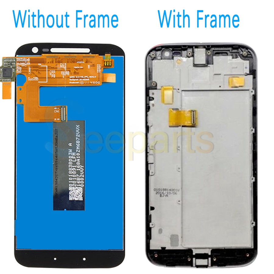 Image 2 - For Motorola Moto G4 LCD Display Touch Screen Digitizer Assembly XT1622 xt1625 For MOTO G4 Plus LCD Display Replacement PartsMobile Phone LCD Screens   -