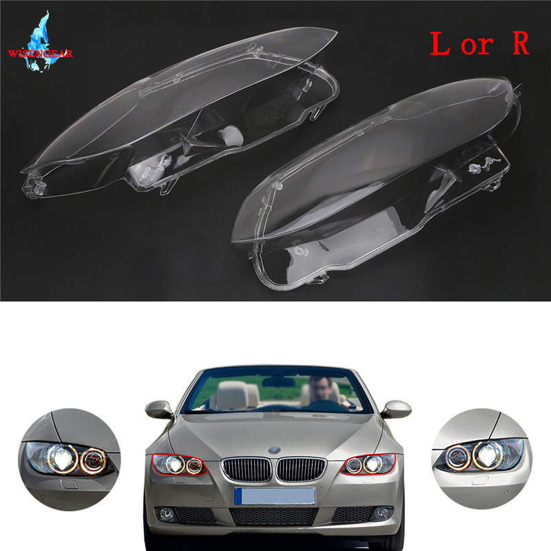 LED Headlight Headlamp Cover Clear Lens Left Or Right For BMW E92 E93 M3 3 Series Coupe Convertible 2 Door 2006 2010 /