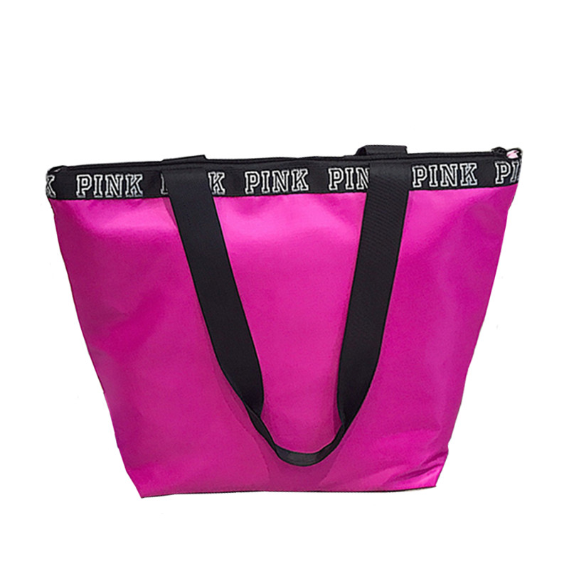 Oxford Womens PINK Multifunctional Outdoor Sport Bag Training Gym Bag Sports Handbag Bags For Women Fitness Bag