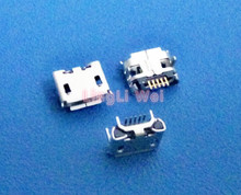 10Pcs Micro USB 5pin Jack Female Socket Connector OX Horn Curly Mouth long For Tail Charging Mobile Phone Sell At A Loss USA