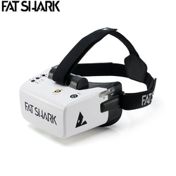 Presale FatShark Scout 4 Inch 1136x640 NTSC/PAL Auto Selecting Display FPV Goggles Video Headset Bulit-in Battery DVR