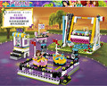 Nueva lepin 01009 423 unids parque de atracciones parachoques cars building kits girl friend bloques ladrillos de regalo 41133