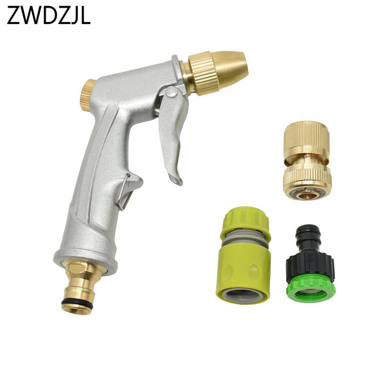 High Pressure Power Water Gun Car Washer Water Jet Garden irrigation water Nozzle Watering Spray Sprinkler Cleaning Tool 1pcs