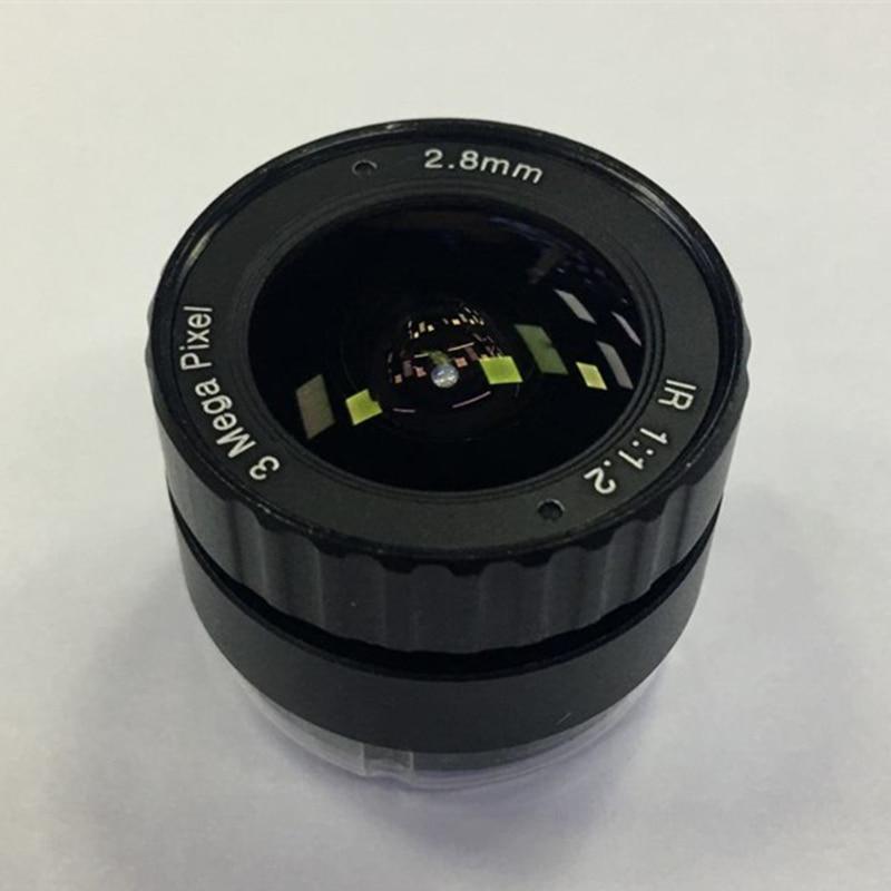 "1//2/"" 4 mm F1.2 3MP CS Mount IR Fixed Focus CCTV Lens for Security IP Camera"