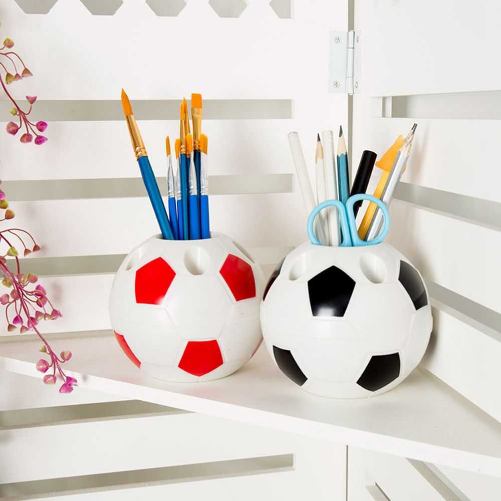 Limit Shows Creative Pen Container Football Modeling Multi-function Toothbrush Holder Pen Holders Gift Office Organizer School