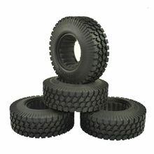 ARC0065 4PCS Rc Rock Crawler 1.9 Inch 98mm Tires Wheels for 1/10 Tamiya D90 SCX10 CC01 RC Car Tires Wheel Parts rc climbing 1 9 98mm tire