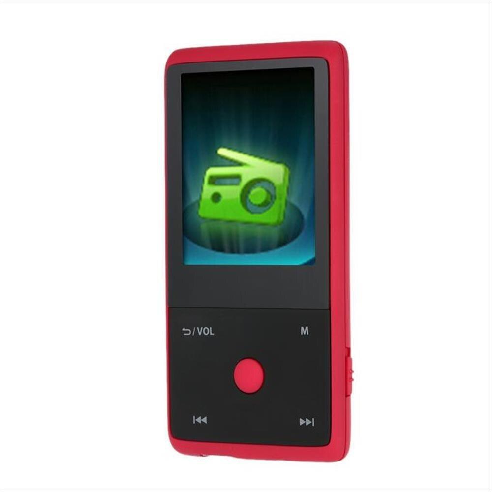 HOTT MU1036 2018 Bluetooth MP3 Lecteur avec 8 gb 1.8 pouce Écran Sport MP3 Lecteur Haute Qualité Sans Perte Enregistreur FM e-Book Horloge