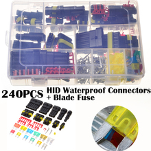 240PCS HID Waterproof Terminal Electrical Wire Connectors and Vehicle Blade Fuses Automotive Mini Fuse Set 7Colors_220x220 vehicle wiring connectors promotion shop for promotional vehicle vehicle wiring connectors at bayanpartner.co