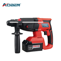 AOBEN 21V Electric Impact Drill Multifunctional Rotary Hammer Lithium Ion Battery Cordless Hammer Electric Drill Electric Pick