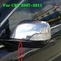 Высшее качество ABS хром 2 шт автомобиля заднего вида декорация крышка  Дверь Зеркало Защитная крышка для Honda CRV 2007-2019