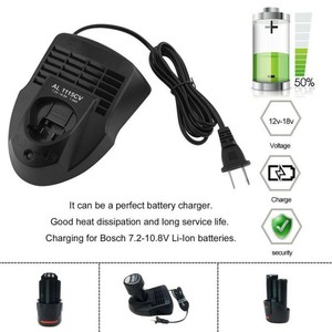 AL1115CV Replacement Lithium Ion Li-ion Battery Charger For Bosch 3.6V-12V Power Tools US EU plug Battery Charger(China)