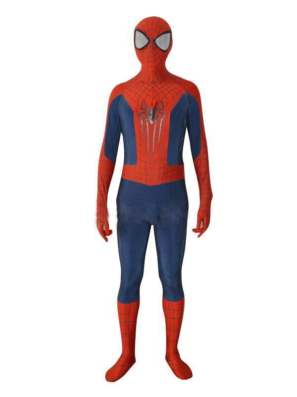 Newest The <font><b>Amazing</b></font> <font><b>Spiderman</b></font> <font><b>2</b></font> 3D Pattern <font><b>Spiderman</b></font> Costume