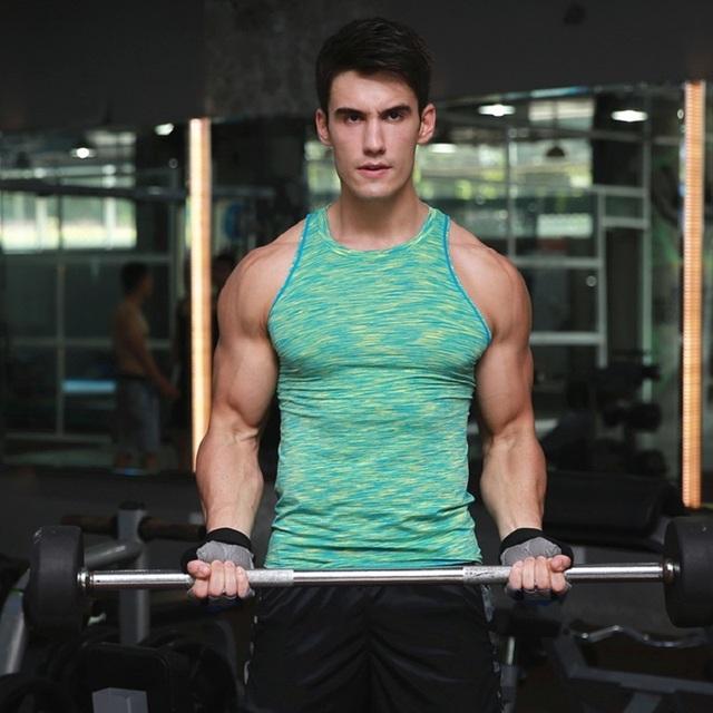 2016 Hombres tank tops Muscle Compresión Culturismo Chaleco Ropa Crossfit Gimnasio Hombres Undershirt Tank Tops Camiseta Camiseta