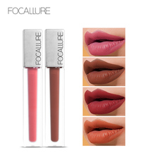 FOCALLURE Matte lipstick Long-lasting lips makeup High Quality Waterproof Quick-drying non Transfer liquid