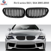 Replacement Front Grill For BMW E63 E64 2005 2010 2 Door Coupe Convertible Cabriolet Front Bumper Grille Mesh 630i 650i M6