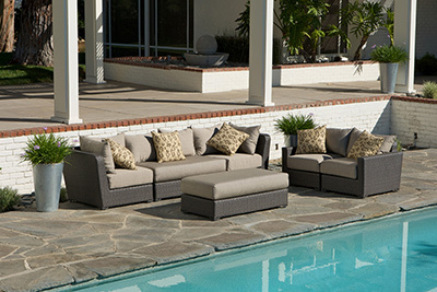 High Quality Lowes Small Wicker Outdoor Italian Used Patio Furniture