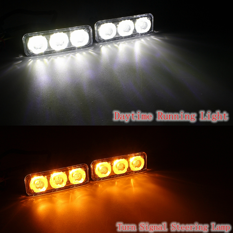 Yituancar 2Pcs / 9W 87MM LED DRL Gündüz işləyən İşıq DC12V - Avtomobil işıqları - Fotoqrafiya 6