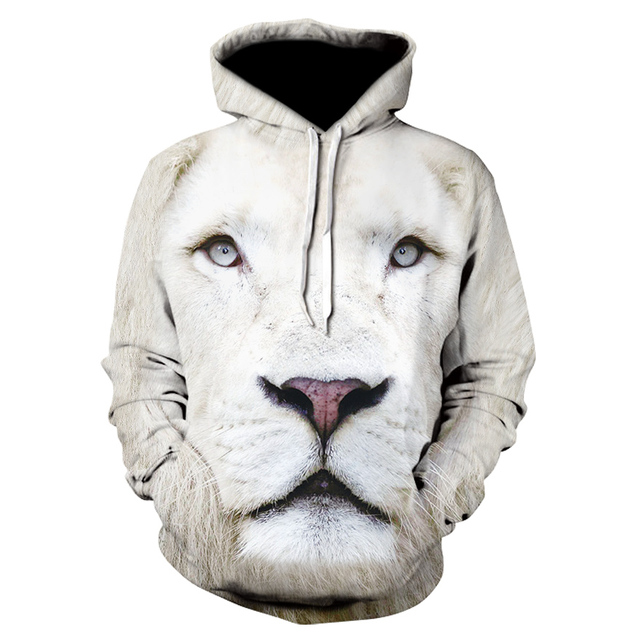 Lion & Tiger 3D Print Hoodie Collection 5