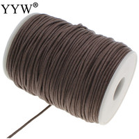 88 Yard Roll Waxed Thread Cotton Cord 2mm Jewelry Findings For DIY Making String Strap Fit