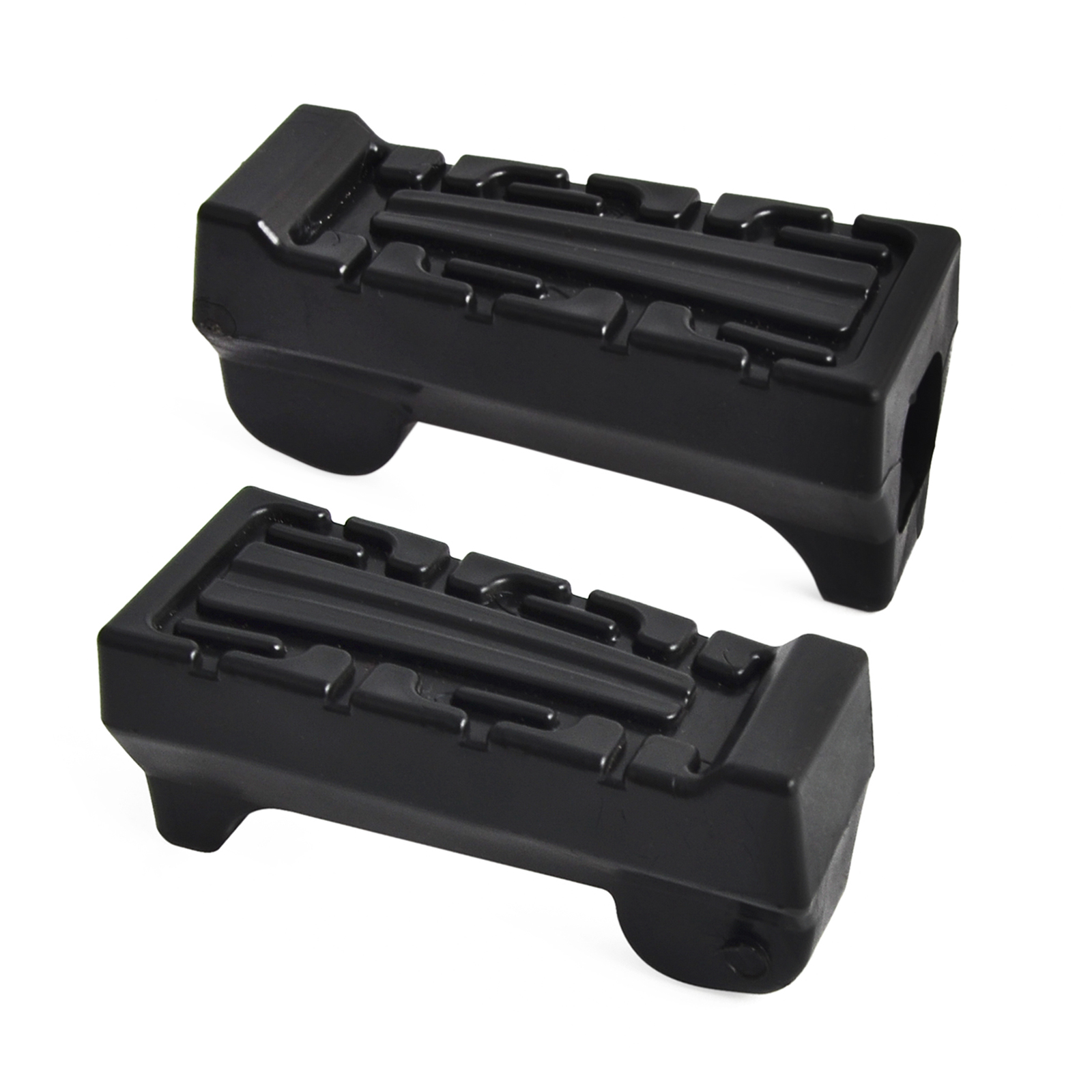 Left & Right Motorcycle Rubber Front Foot Rest Pegs For Yamaha YBR125 YBR 125 All Years
