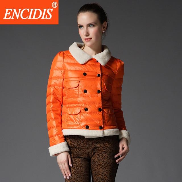 Plus Size 3 Colors Women's Winter Jacket Short Double Breasted Down Coat 2016 New Women Coats Female Parka Ladies Jackets Y950
