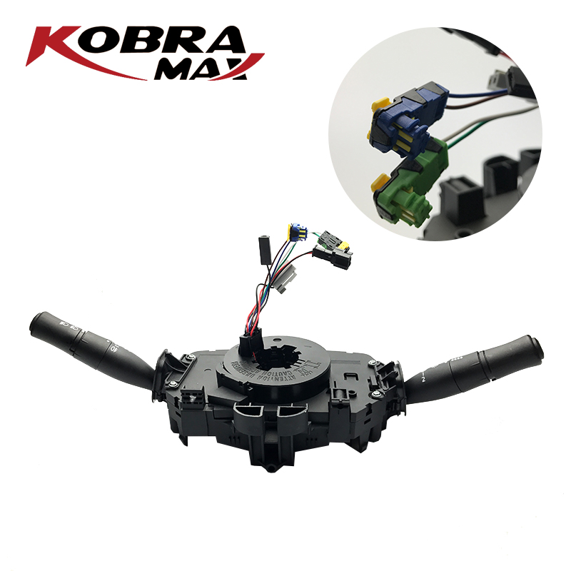 Image 2 - KobraMax Combination Switch Fits For Renault Megane II 3 5 portes Megane MK II 8200216462 Car Accessories-in Car Switches & Relays from Automobiles & Motorcycles