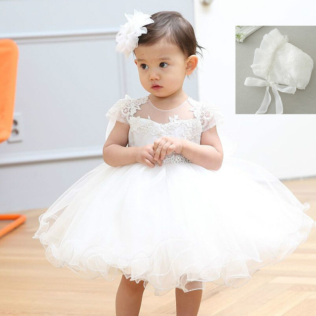 2017 kleines Mädchen Kleid 1 Jahr Geburtstag Kleider für Mädchen ...