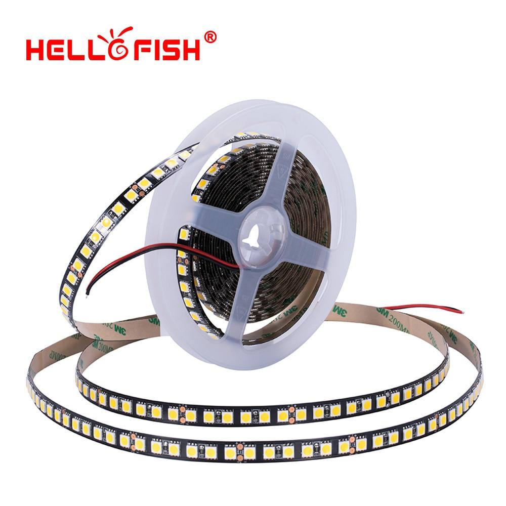24V 5050 Led Strip Light Non Waterproof High Brightness Flexible Light Stripe 5m 120 LED Lights Lighting Tape цена 2017