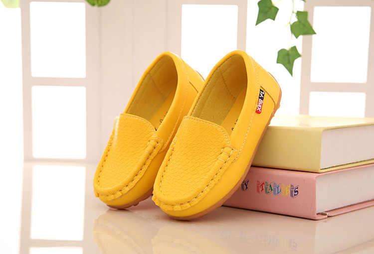 Groothandel kinderen shoes voor jongens meisjes sneakers soft sole kids flats loafers shoes babyschoenen (peuter/kid/big kid)