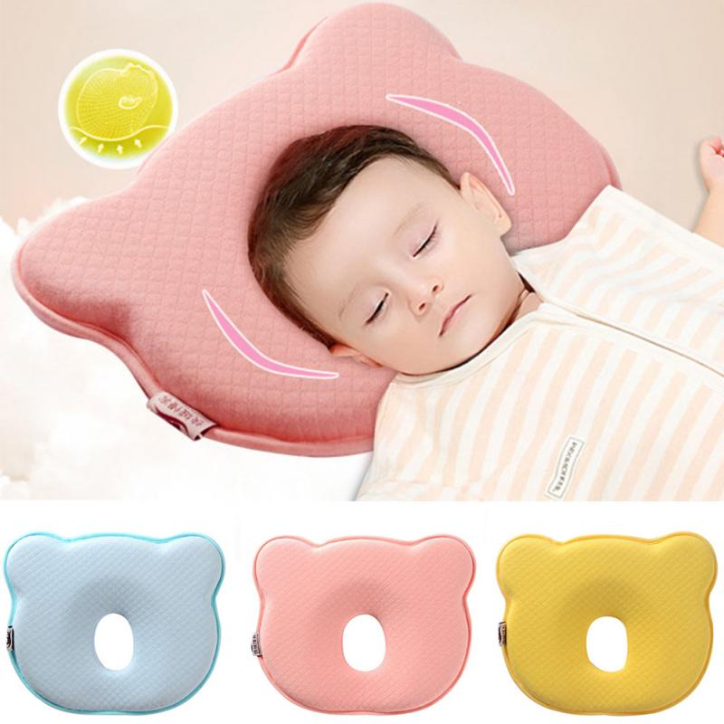 0~12M Memory Foam Baby Pillows Breathable Baby Shaping Pillows to Prevent Flat Head Ergonomic Newborns Pillow almofada infantil0~12M Memory Foam Baby Pillows Breathable Baby Shaping Pillows to Prevent Flat Head Ergonomic Newborns Pillow almofada infantil
