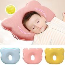 Get more info on the 0~12M Memory Foam Baby Pillows Breathable Baby Shaping Pillows to Prevent Flat Head Ergonomic Newborns Pillow almofada infantil