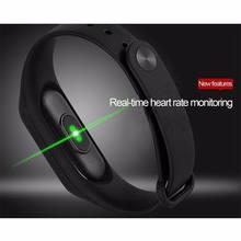 New M2 Waterproof Band Heart Rate Monitor Bluetooth Smart Bracelet Sleep Fitness Tracker Pedometer Wristwatch цена