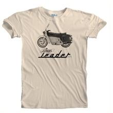 2019 New Men Retro Vintage Ariel Leader Motorcycle Biker Detail Print T-Shirt Tee Shirt