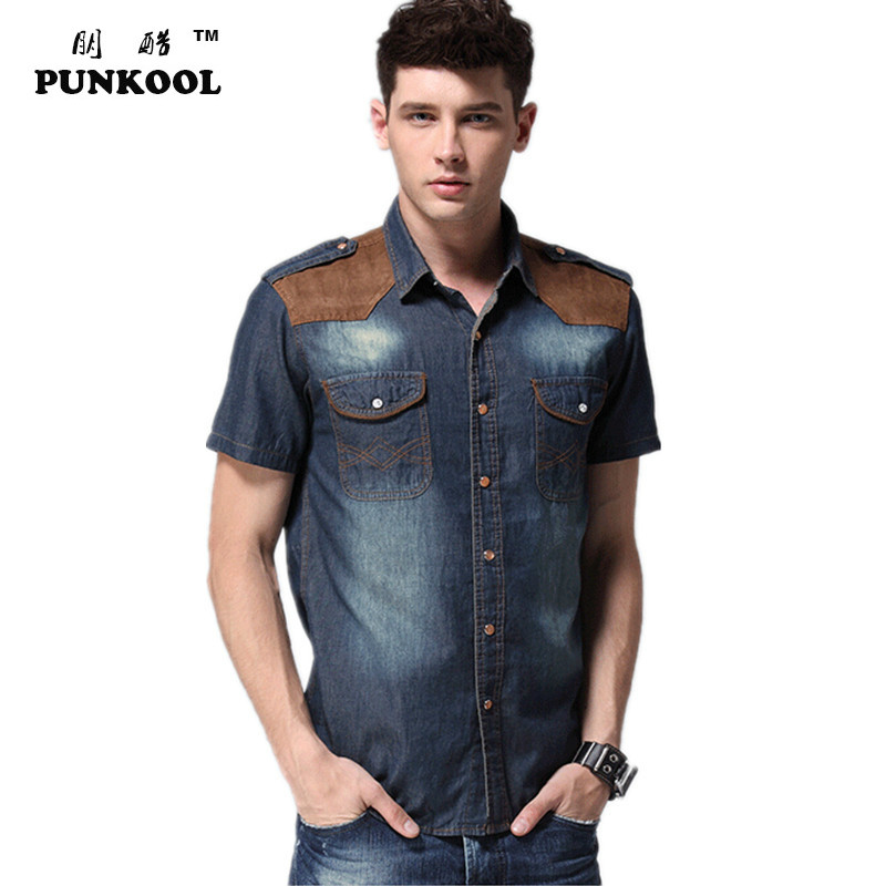 Popular Fitted Short Sleeve Button up Shirts-Buy Cheap Fitted ...
