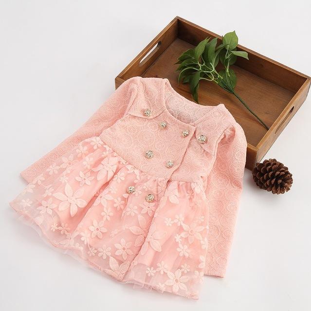Envío libre escudo de bebé el nuevo bebé clothing girls capa de la manera de corea del bebé personalizada chaqueta del bebé capa de la muchacha