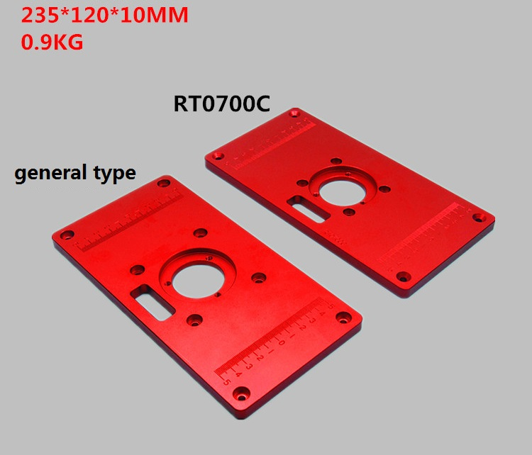 Woodworking Bakelite Milling Inversion Plate for Engraving Machine