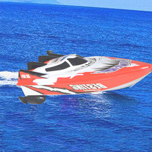 High Speed Remote Control Boats Electric Plastic Toys Model Ship Sailing RC Boat Ship for Chirldren